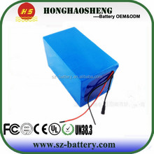 18650 lithium 48v 40ah li-ion battery for electric scooter with charger