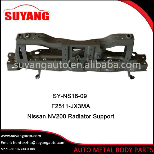 Aftermarket Radiator Support For N issan NV200 Auto Body Parts