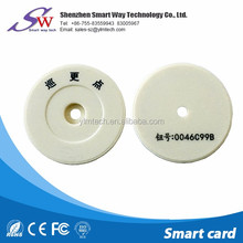 13.56mhz nfc tag waterproof patrol checkpoint ntag213/ntag215/ntag216 /ultralight c