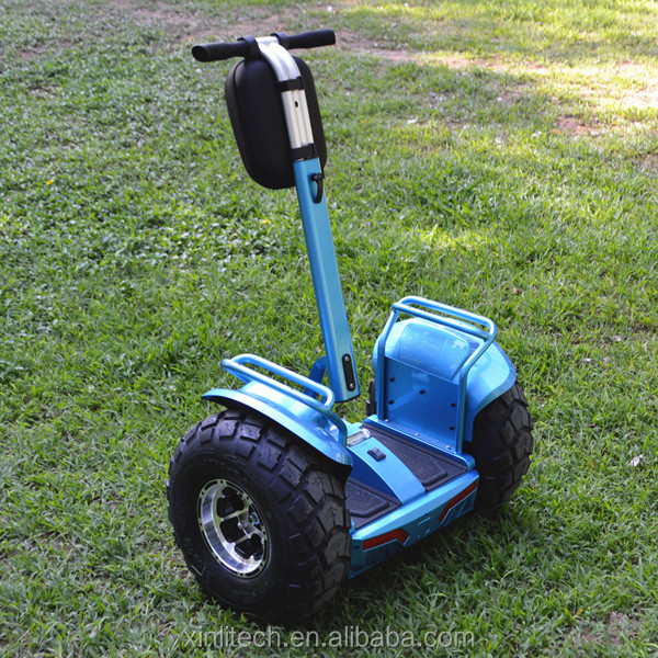 Reliable and high quality cheap price two wheel self balaning electric chariot scooter powerful 72v 4000w on sale