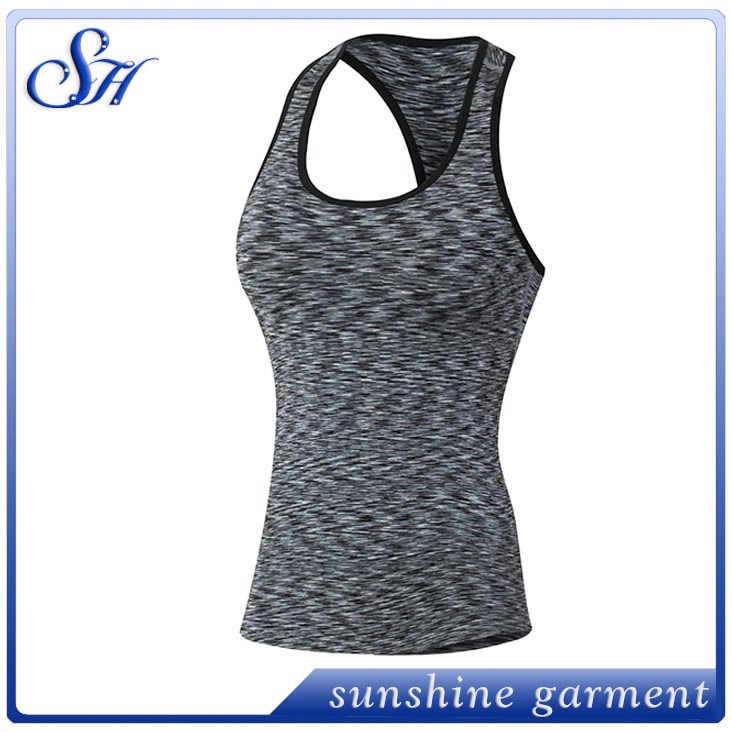 Women Quick Dry GYM sport Yoga running Shirts Sports Elastic Fitness Comfortable Vest Yoga Tank Top t-shirt for Women