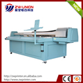 High quality multicolor uv led flatbed printer