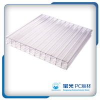 baoguang Lexan twin wall policarbonate panel hollow polycarbonate sheet price
