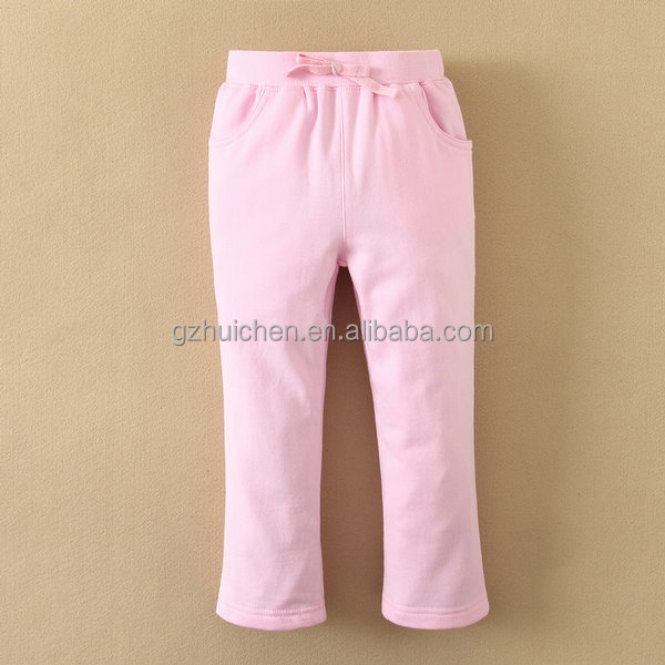 baby clothes girls wearing yoga pants, cute and pretty design formal pants for girls, baby pants hangers in wholesale price