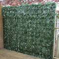 1*3M Artificial Faux Ivy Leaf Hedge Panels On Roll Privacy Screening Garden Fence