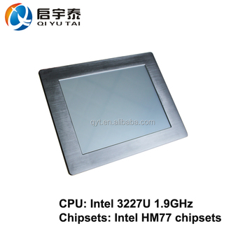Best selling 12 inch embedded 800x600 Resolution highly rugged aluminum housing all in one touch screen pc