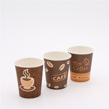 import food grade disposable hot drink coffee paper cup from china