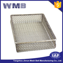 The quality is excellent wire mesh storage rolling wire basket