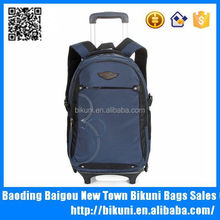 Multi-function new designer durable heavy duty trolley backpack wheels <strong>school</strong>