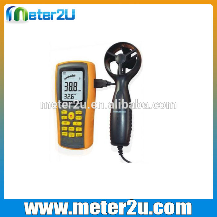 China electronic speedometer anemometer HD8902