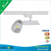 UL Listed Commercial Progressive LED Lighting Head Movable Spot Track Light 30W Rail Track Triac Dimmable Guangzhou LED