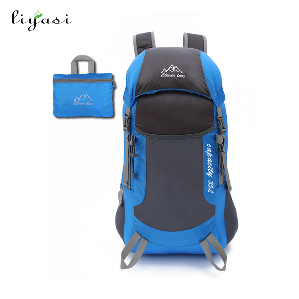 Fashion Camping Hiking Light weight Travel Backpack Daypack bag
