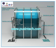 China Puxin Household Portable Biogas Plant Price