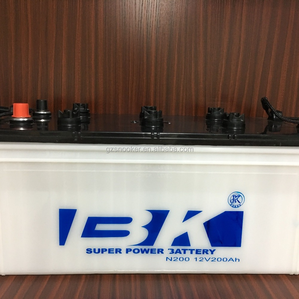 BK 12V 200Ah Maintenance Free Car Battery