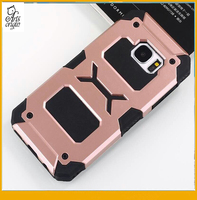 Most popular armor tpu pc combination black phone case with waterproof case for samsung galaxy s7 edge case
