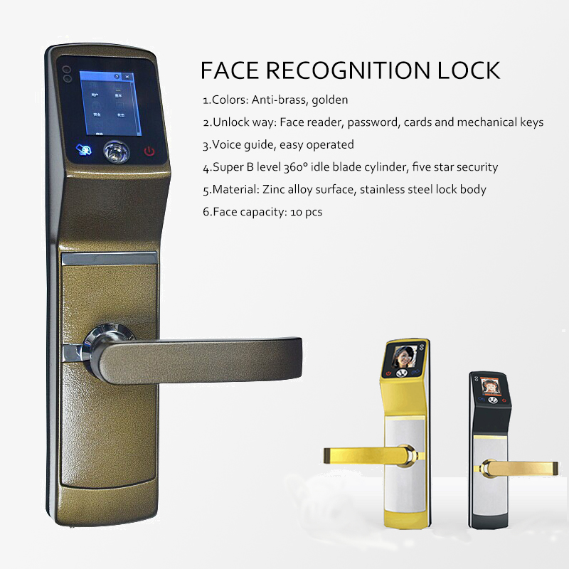 door lock security using rfid and face recognition Corum security cs-100 biometric keyless 4-in-one facial recognition smart door lock knob rfid passcode with touch screen $ 34900 (as of march 12, 2018, 8:22 pm.