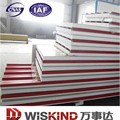 High Quality Color coated EPS Sandwich Panel for industrial plants, warehouses supermarkets