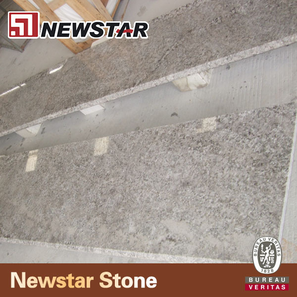 Newstar Aran White/Bianco Antico Brazil Imported Hot Sale Polished Granite Paver Flooring Wall Tiles & Slabs For Sale