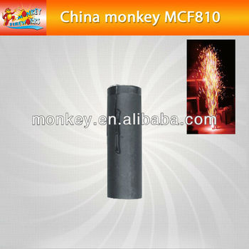 8seconds 10m meters smokeless no smell cold color satge fountain fireworks for wedding(MCF608)
