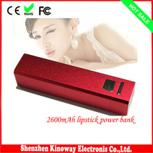High quality discount travel mobile powerbank 2600mah