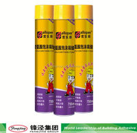 High performance 270ml transparent pu foam sealant for doors with many colors