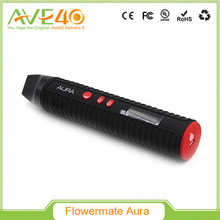 Authentic Newest Flowermate AURA Dry Herb / Thick Oil 2600mAh Content Vaporizer