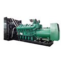 Customized silent 1000kw wood gas generator price
