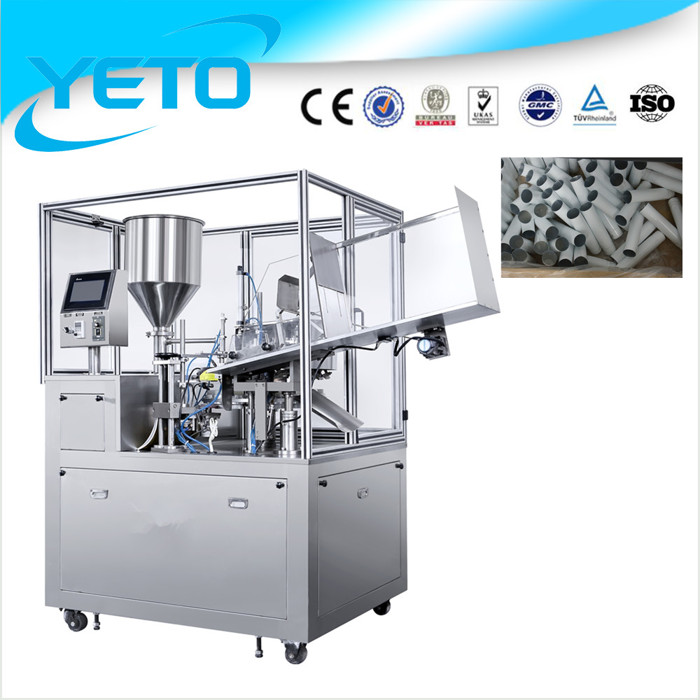 Factory price automatic aluminum tube filling sealing machine/laminated tube filling and sealing