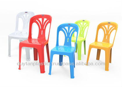 Plastic Chairs cheap price best quality Duy Tan Manufacturer