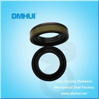 PTFE double lips rotary shaft mechanical stainless steel oil seal
