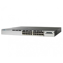 Catalyst 3850-24P-E Ethernet Switch - 24Ports - Manageable - 24 x POE+ WS-C3850-24P-E