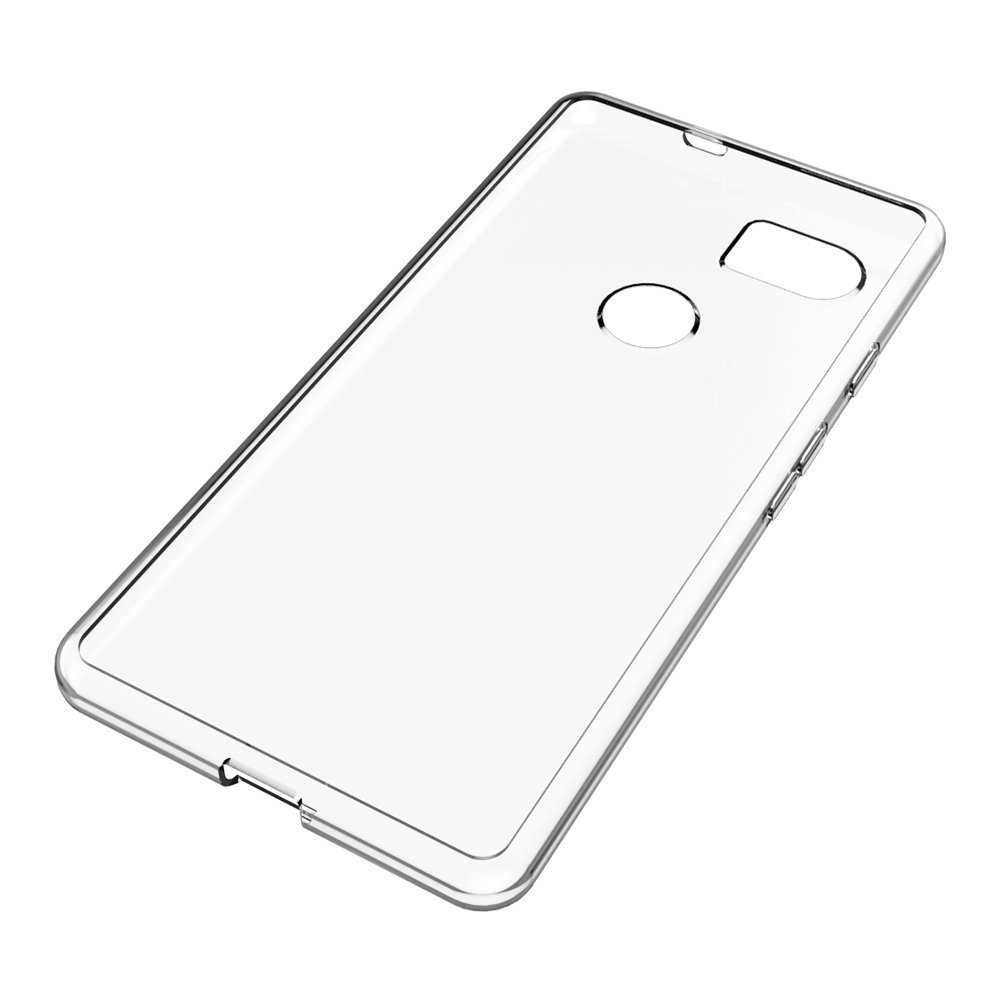 For Google Pixel XL 2 Case,Clear Scratch Resistant TPU Rubber Soft Skin Protective Case Cover For Google Pixel 2 XL
