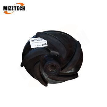 MIZZTECH Centrifugal Slurry Pump High Chrome Rubber Impeller Price