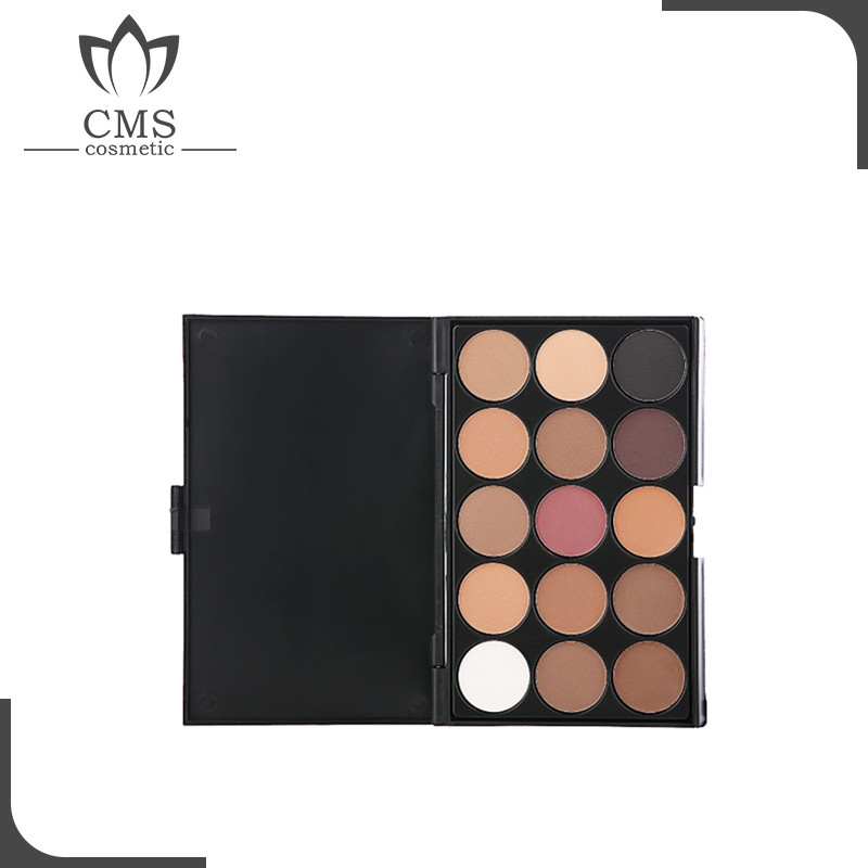 Low MOQ private label eyeshadow makeup eyeshadow customized logo no brand eyeshadow