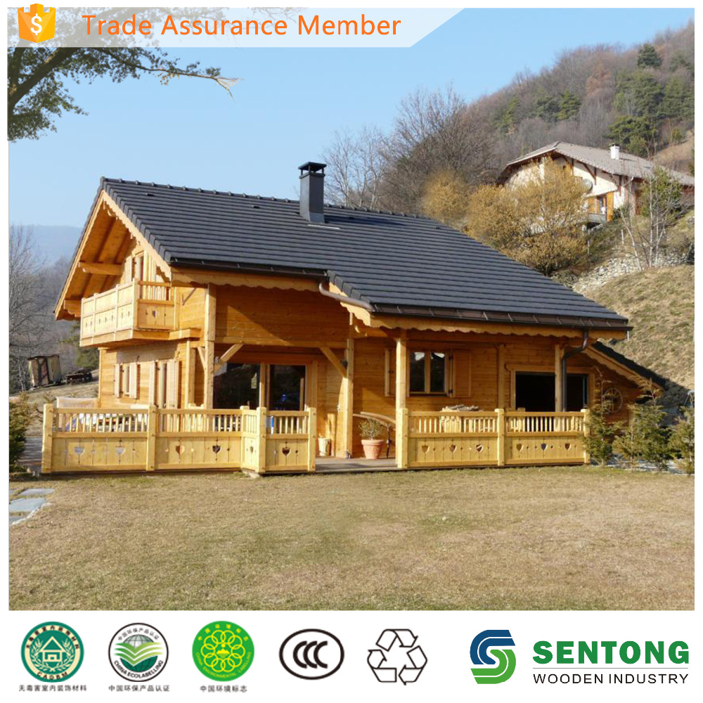 SenTong Cheap Prefabricated Wooden House For Sale