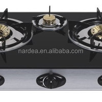 Tempered Glass Gas 3 Burner Gas