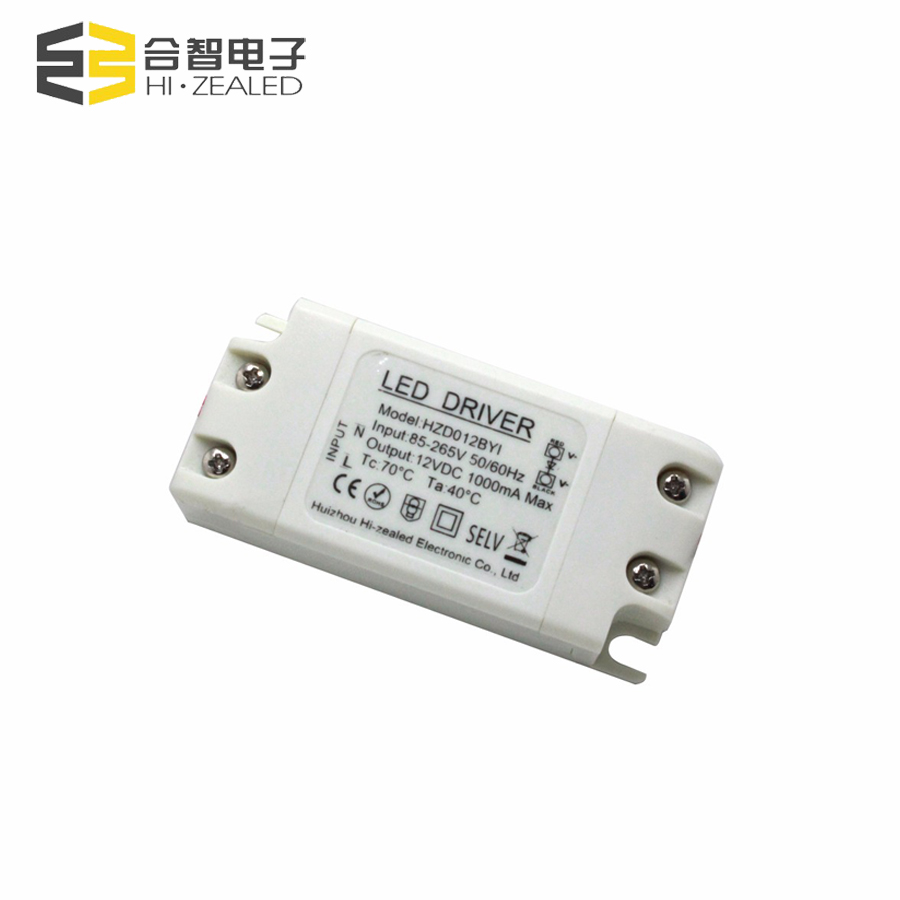 No MOQ led switching power supply 12v 12W 500mA 1A 2a led driver