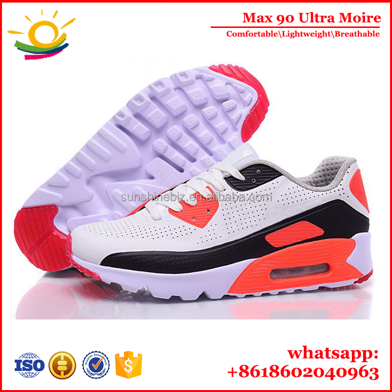 <strong>Max</strong> Lightweight and Comfortable Sport Shoes Air 90 Ultra Moire Zapatillas deportivas hombre Top Quality