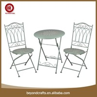 cheap aluminum folding metal commercial outdoor furniture