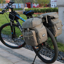 Waterproof Large Capacity Bicycle Pannier Bag Mountain Road Cycling Double Side Rear Rack Tail Seat Trunk Bag