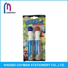 Colorful customized bingo marker