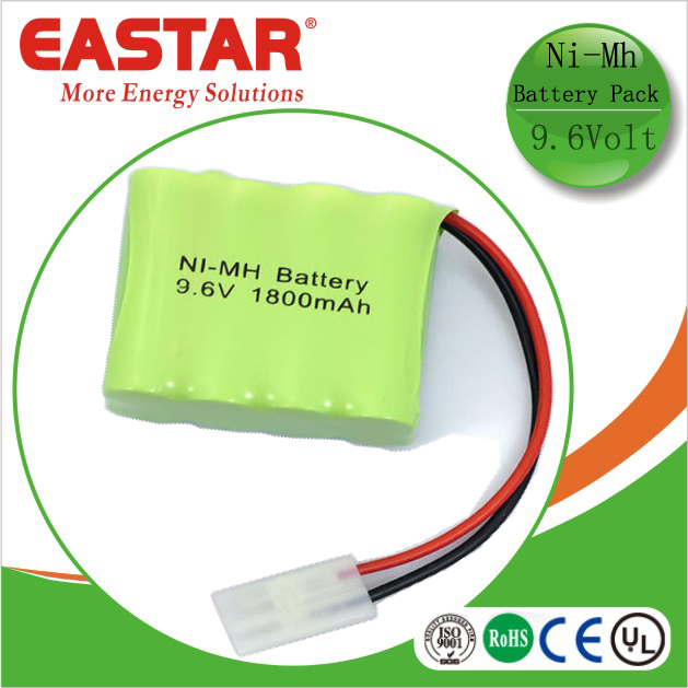 Rechargeable Nimh aaa 9.6v 800mah rechargeable battery pack for lighting and tools