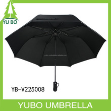 25inch classic solid color large size strong fiberglass business mens umbrella easy open