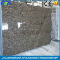 Natural Stone Polished Baltic Brown Standard Granite Slab