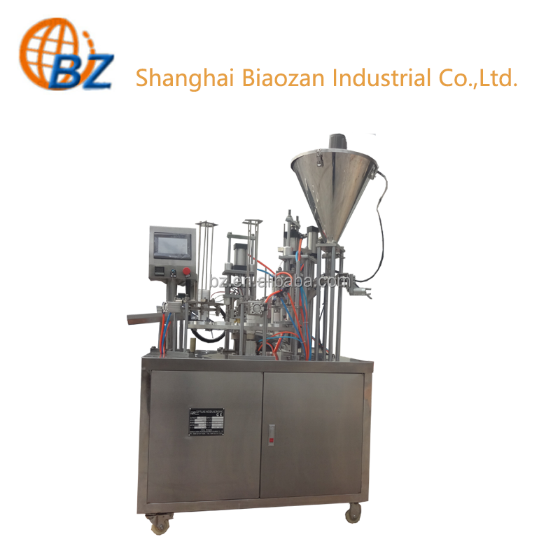 Soy Milk Cup Filling Sealing Machine Milk Packing and Sealing Machine