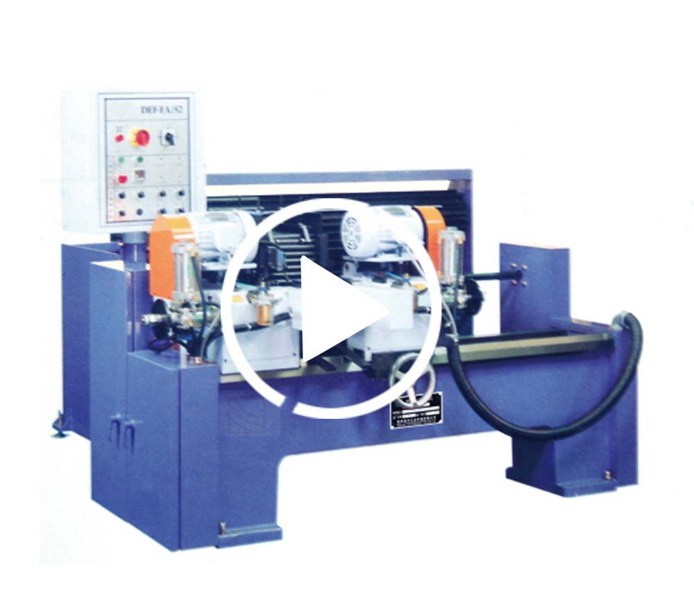 DEF-FA/52CNC Full automatic dual tube deburring and chamfering machine