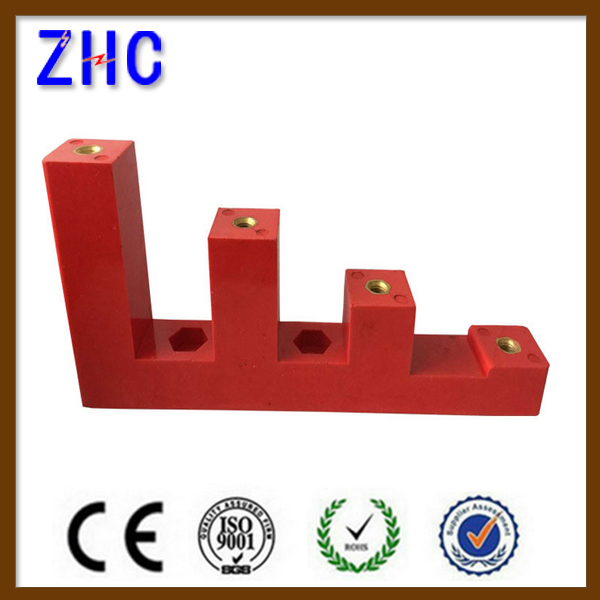 CJ series low voltage cabinet switchgear red step insulator standoff insulator busbar insulator