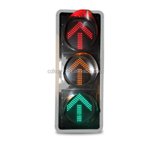 China hot sale flashing Arrow three colors LED Traffic Signal Light remote control