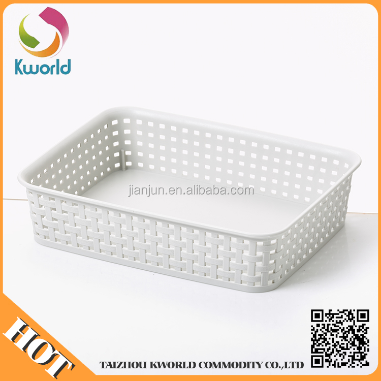 Plastic Storage Box With Open Front