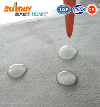 Water repellent chemical agent for waterproof cement dry mix mortar